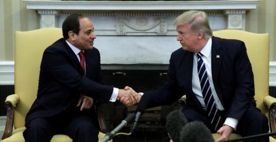 Egypt-SisiTrump-shakinghands
