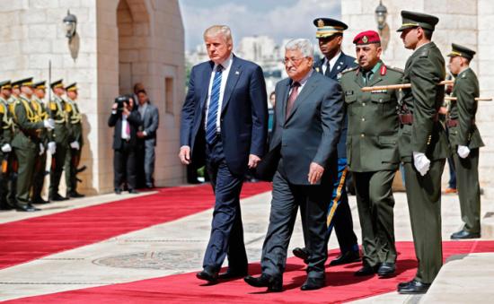 Trump-Abbas-Bethlehem