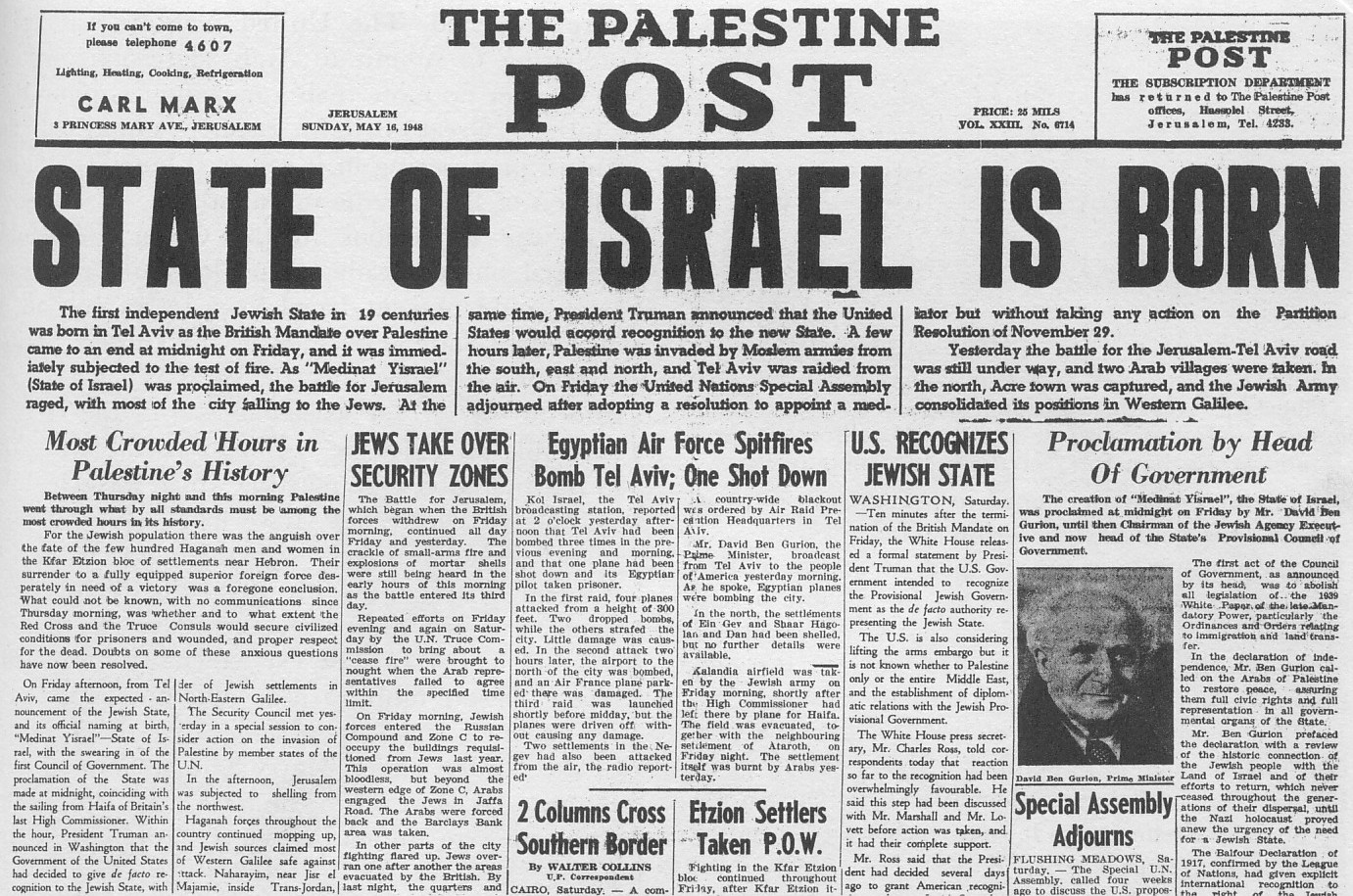 Modern Israel Turns 70 — here are 70 fascinating facts about the modern Jewish State you might not know!
